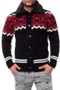 Herren Strickjacke im Norweger-Look